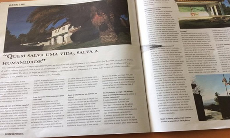 Reportagem na Revista Business Portugal